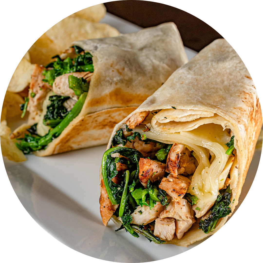 Grilled Chicken Broccoli Rabe & Provolone