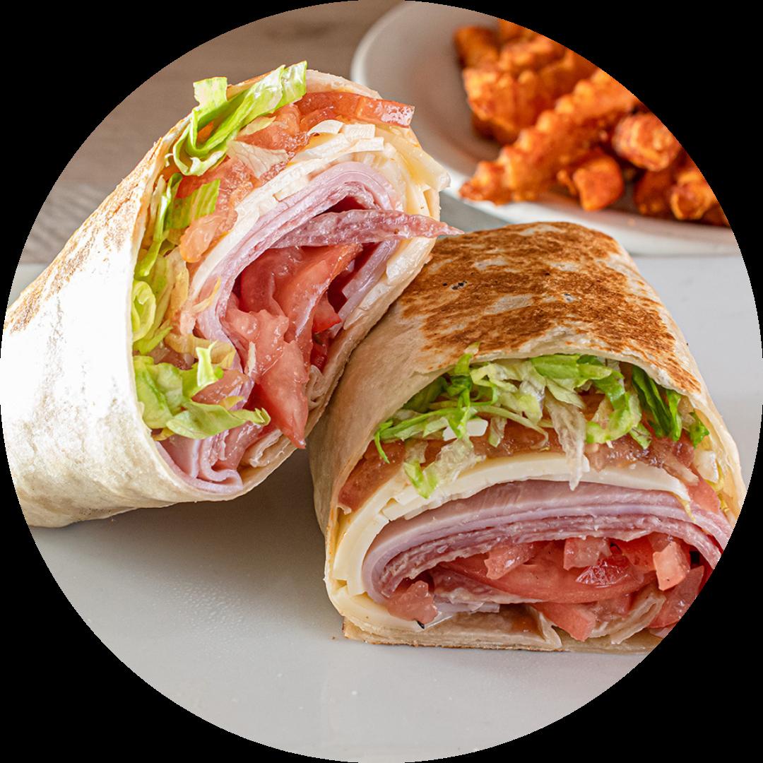 Ham, Salami & Provolone