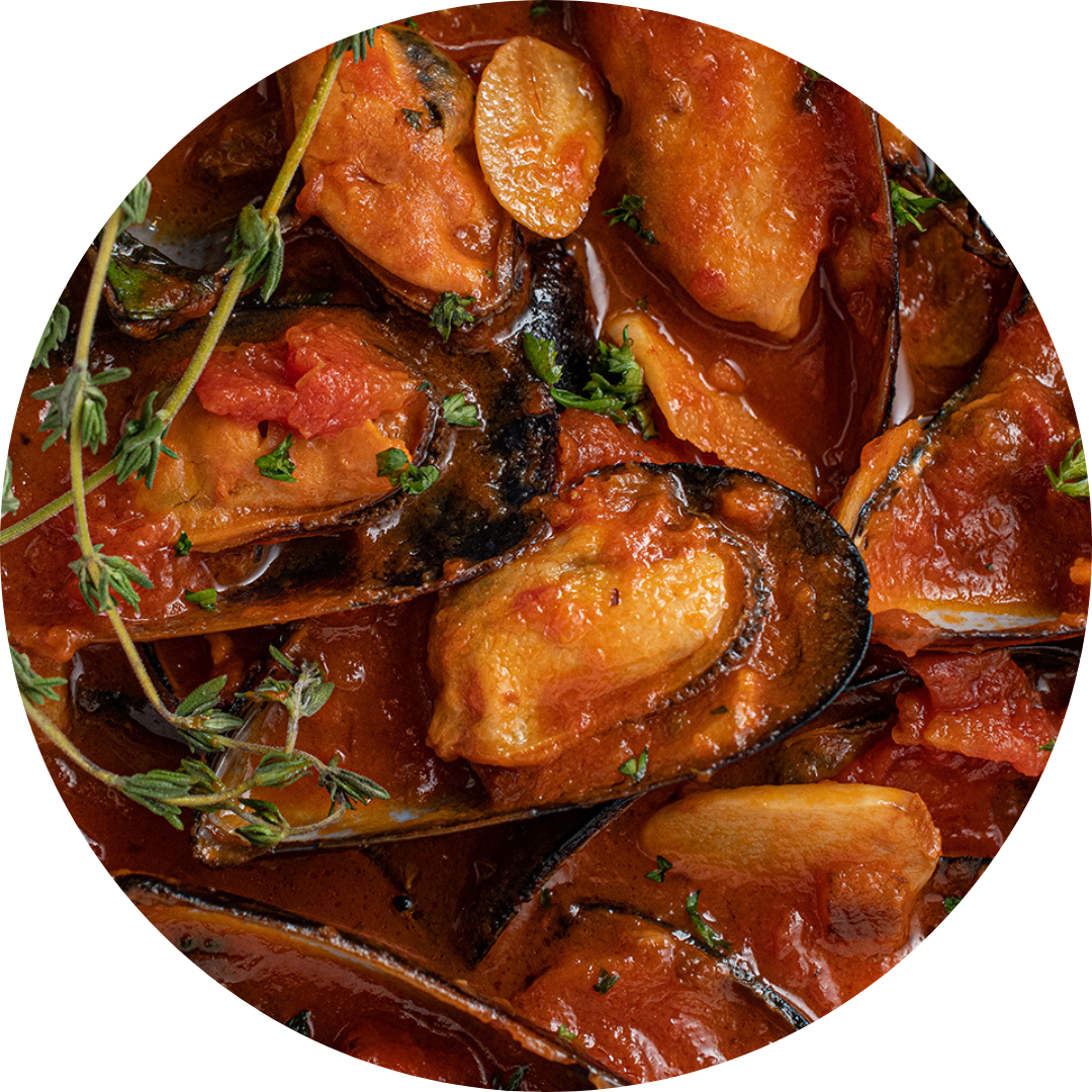 Mussels In Fresh Tomato Sauce